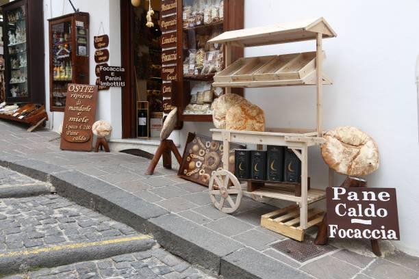 Italian bakery stock photo