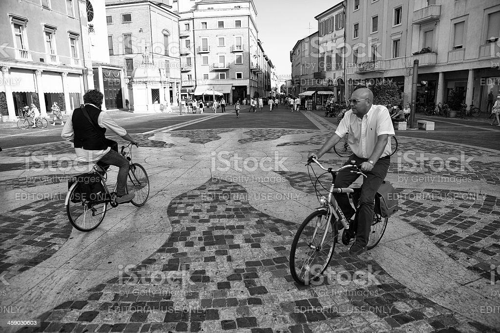 italian bicycles royalty-free stock photo