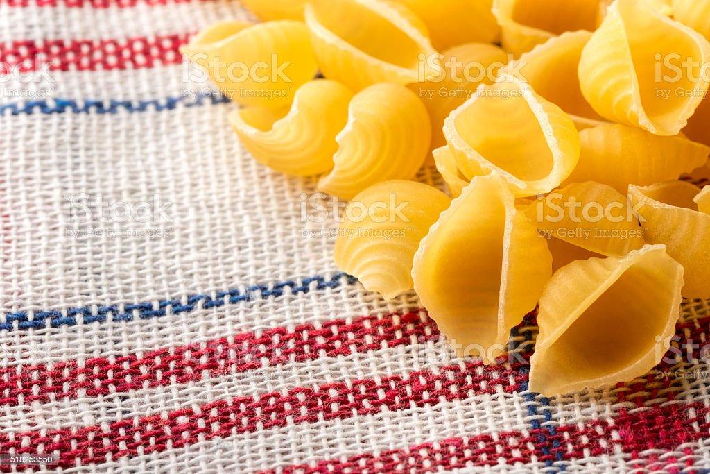 Italian Bocconcini Pasta stock photo