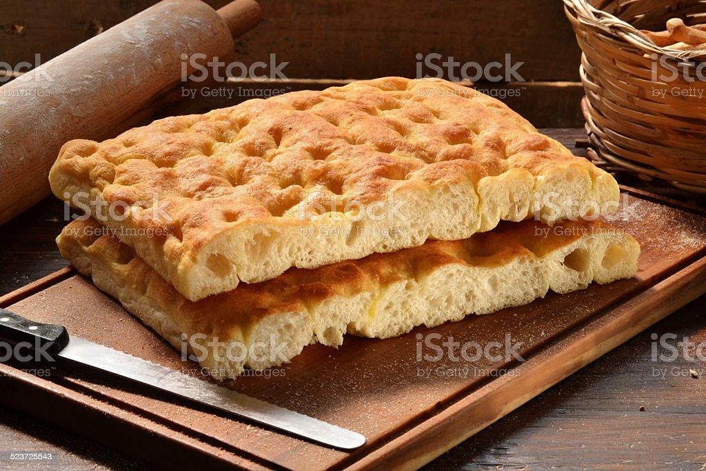 Italian bread. stock photo