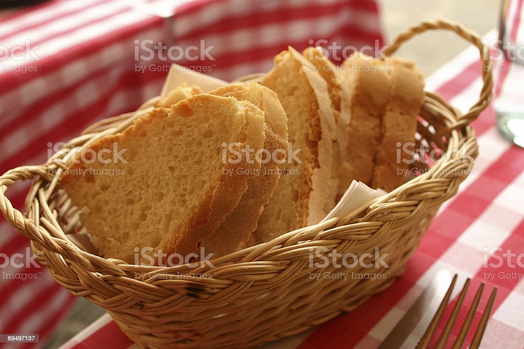 Italian bread royalty free stockfoto