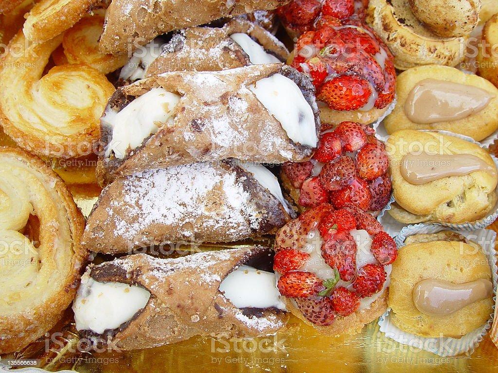 Italiano torte - foto stock