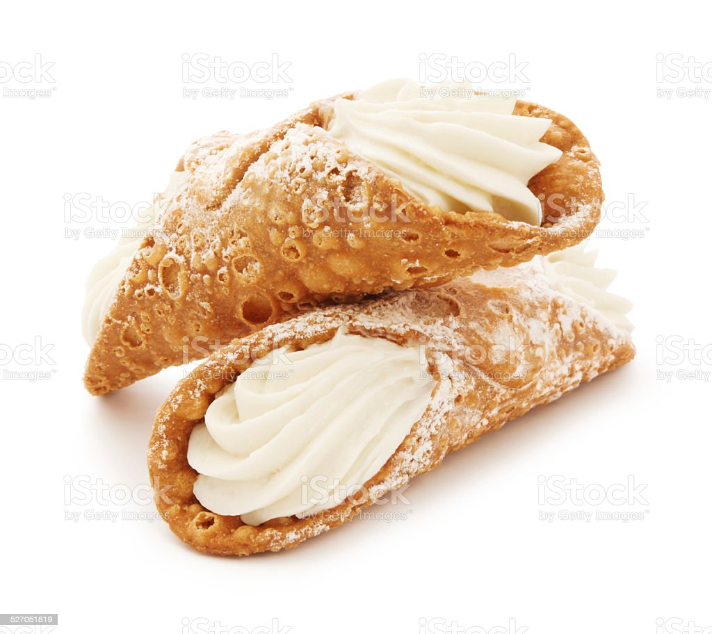 Italian Cannolis stock photo