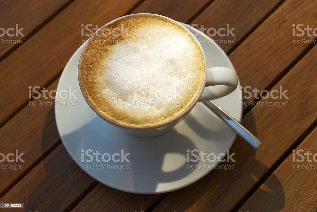 italian cappuccino royalty-free stock photo