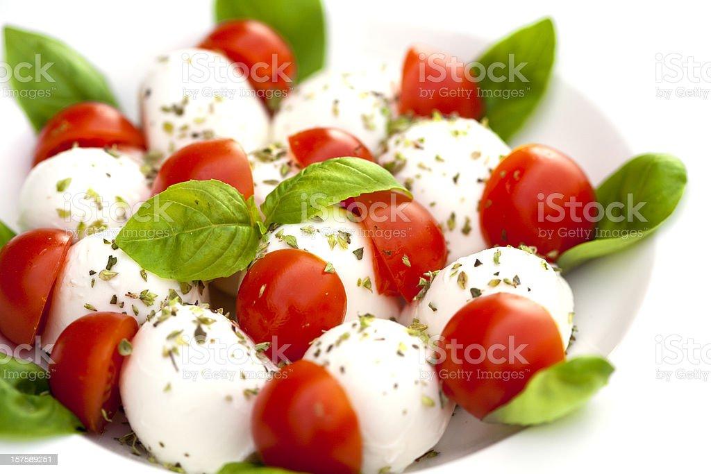 italian caprese salad royalty-free stock photo
