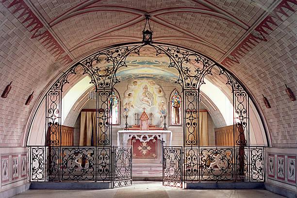 Italian Chapel, Orkney stock photo