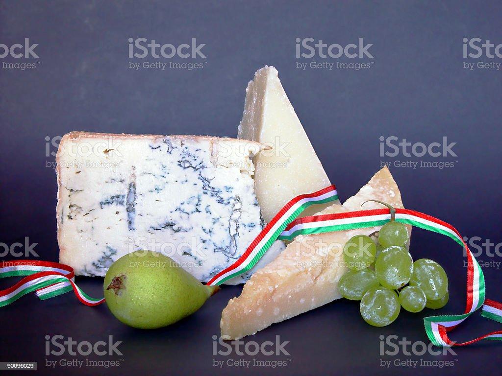 Italian cheese royalty-free stock photo