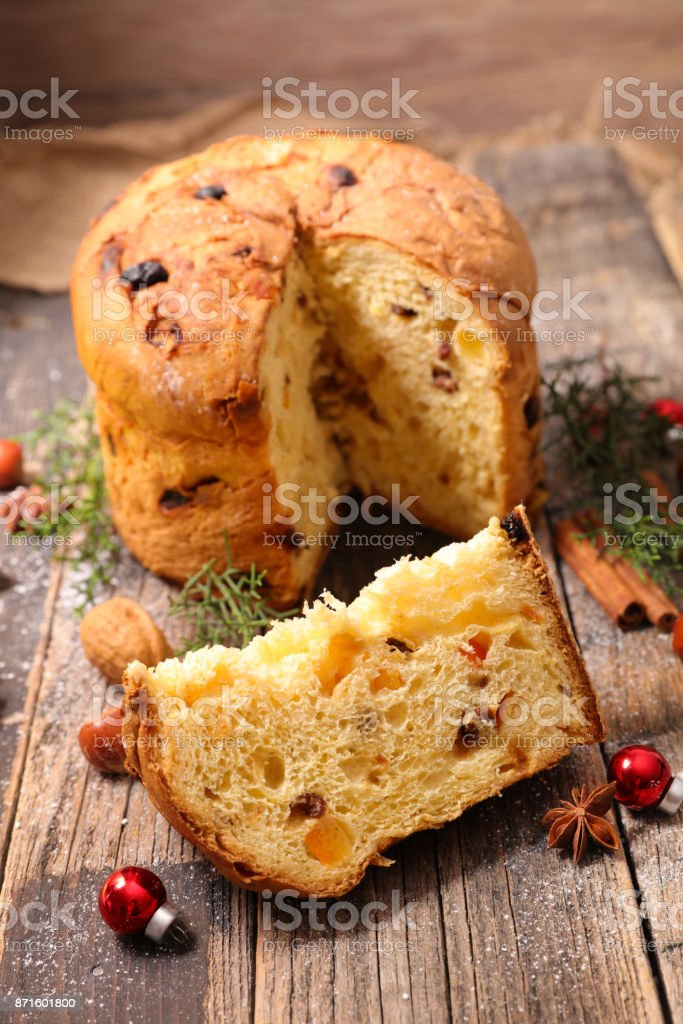 Italian Christmas Cake.Italian Christmas Cake Stock Photo Download Image Now