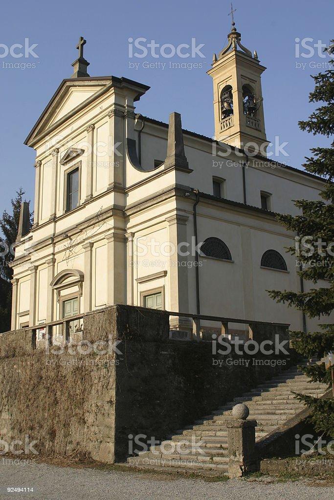 Italian church royalty-free stock photo