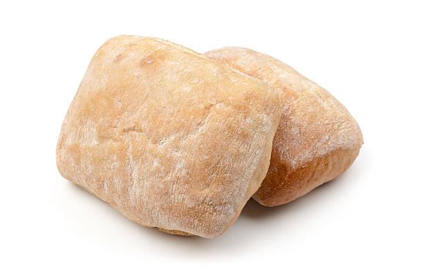 이탈리어어 치아바타 빵 흰색 - 치아바타 빵 뉴스 사진 이미지