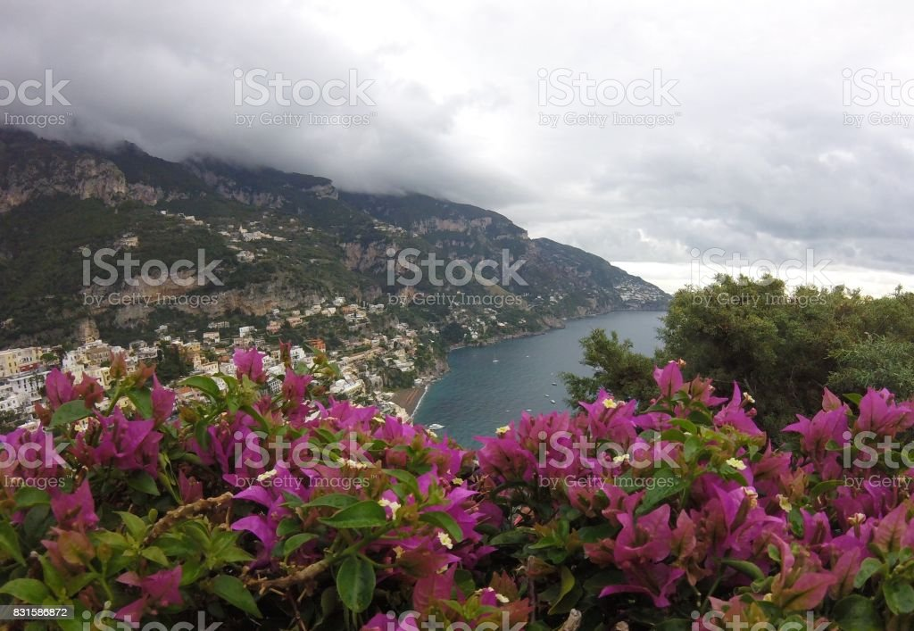 Italian Coastline stock photo