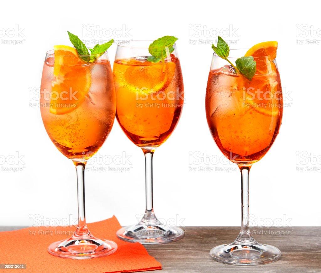 Italian Cocktail Aperol Spritz Stock Photo & More Pictures