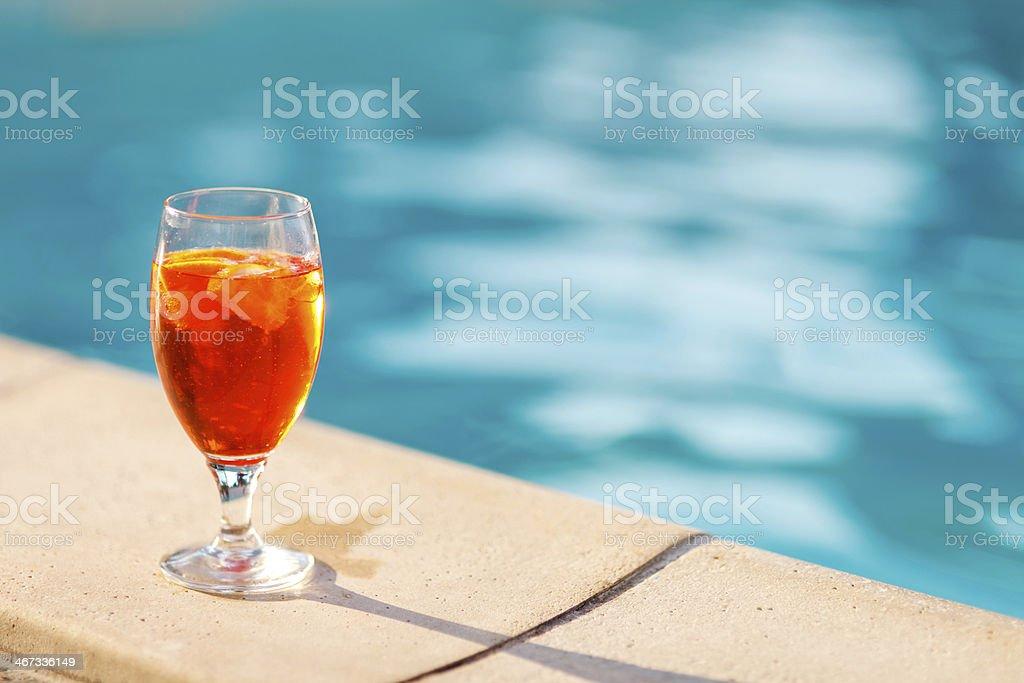 Cocktail italiano - foto stock
