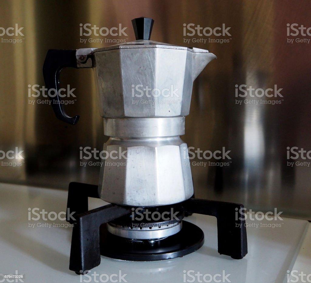 義大利咖啡機 免版稅 stock photo