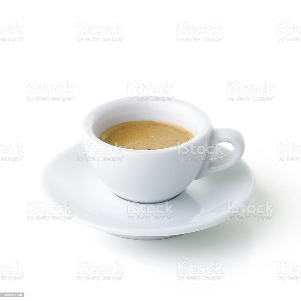 italian coffee stock photo