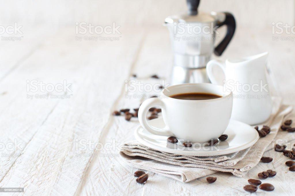 Café italiano para el desayuno - Foto de stock de Alimento libre de derechos