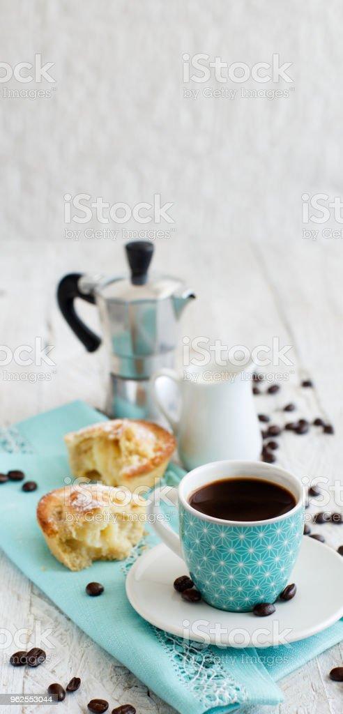 Café italiano para pequeno-almoço - Foto de stock de Bebida royalty-free