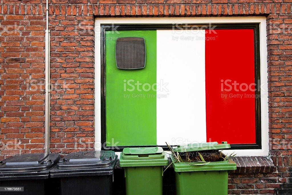 Italian colours royalty-free stock photo