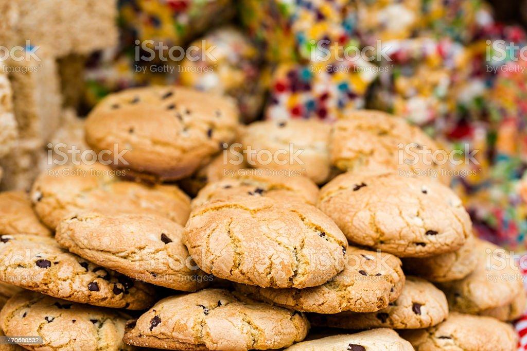 Italian cookies stock photo