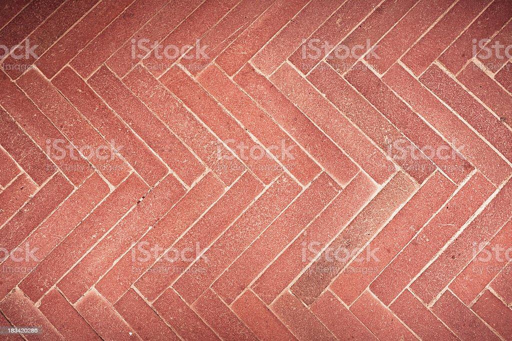 Italiano pavimenti in cotto rosso mattoni texture sfondo