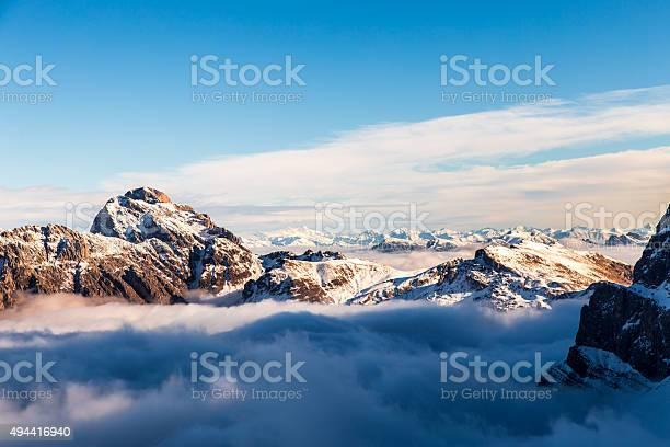 Photo of Italian Dolomiti ready for ski season
