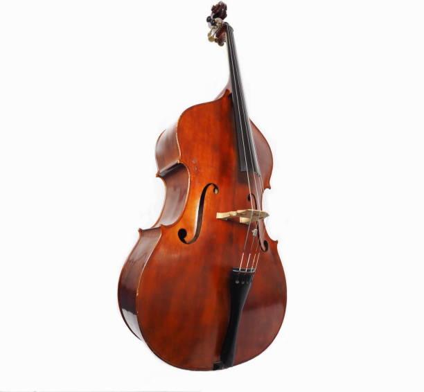 Italian double bass stock photo