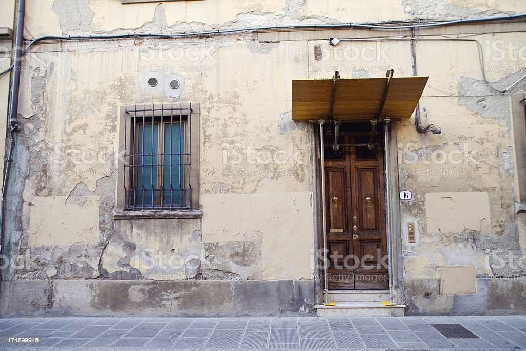 Italian Facade royalty-free stock photo