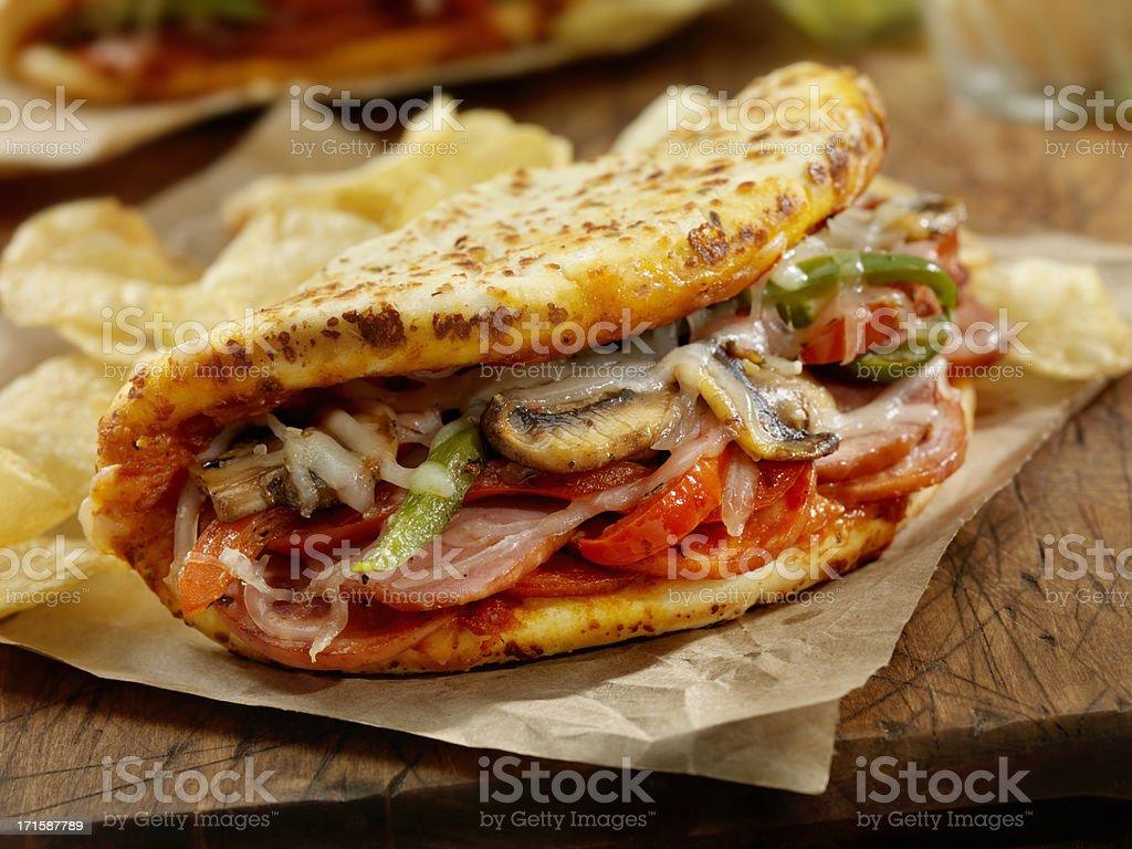 Italian Fatbread royalty-free stock photo