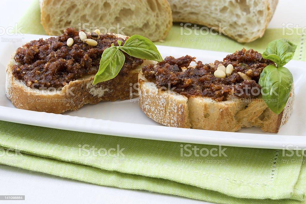 Italian Fingerfood royalty-free stock photo