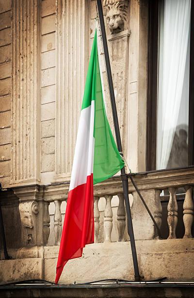Italienische Flagge – Foto