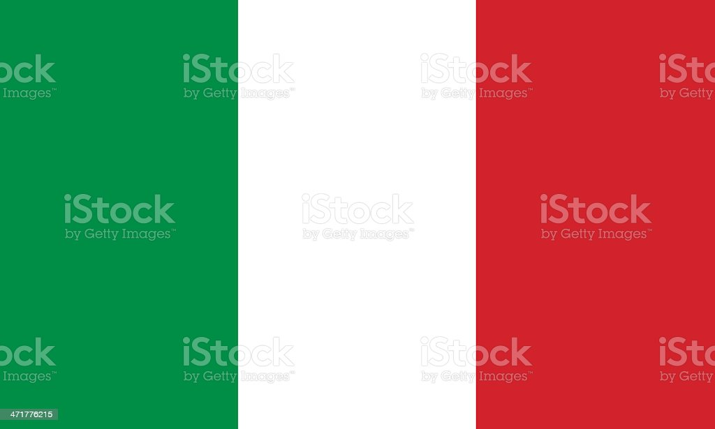 italian flag royalty-free stock photo