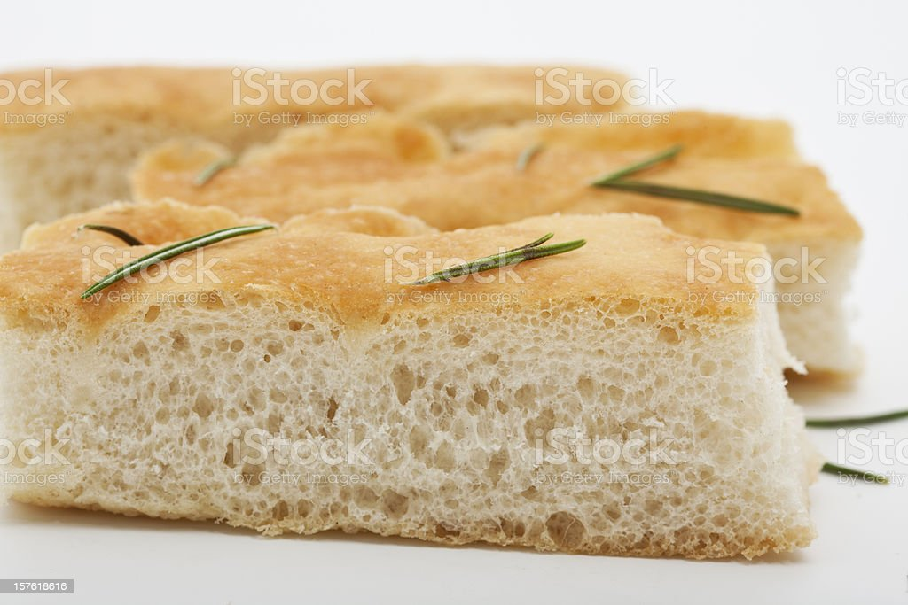 italian focaccia bread royalty-free stock photo