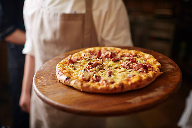 italian food - pizzeria stock photos and pictures
