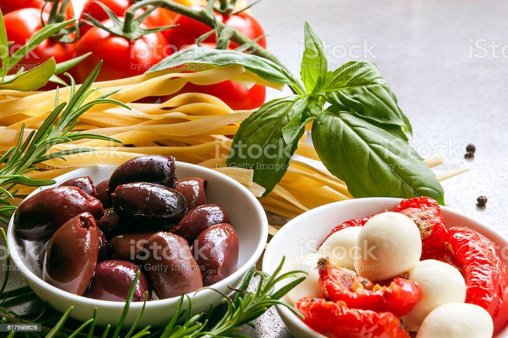 Cuisine italienne plats  - Photo