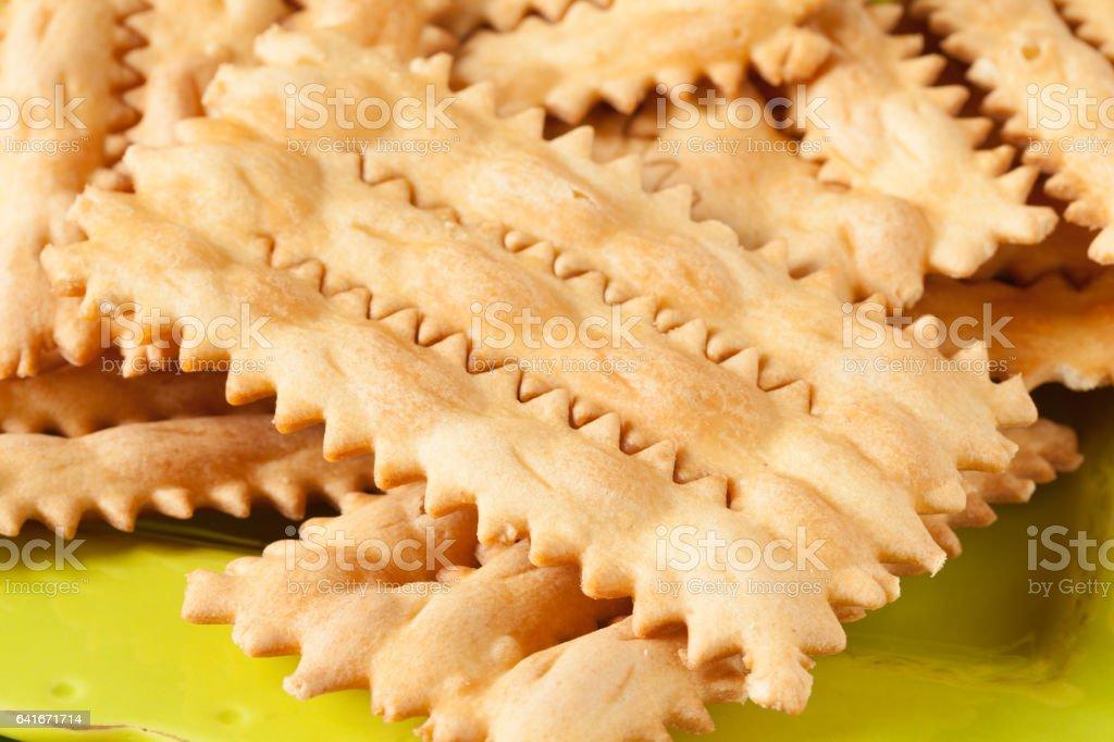 Italian Fritters stock photo