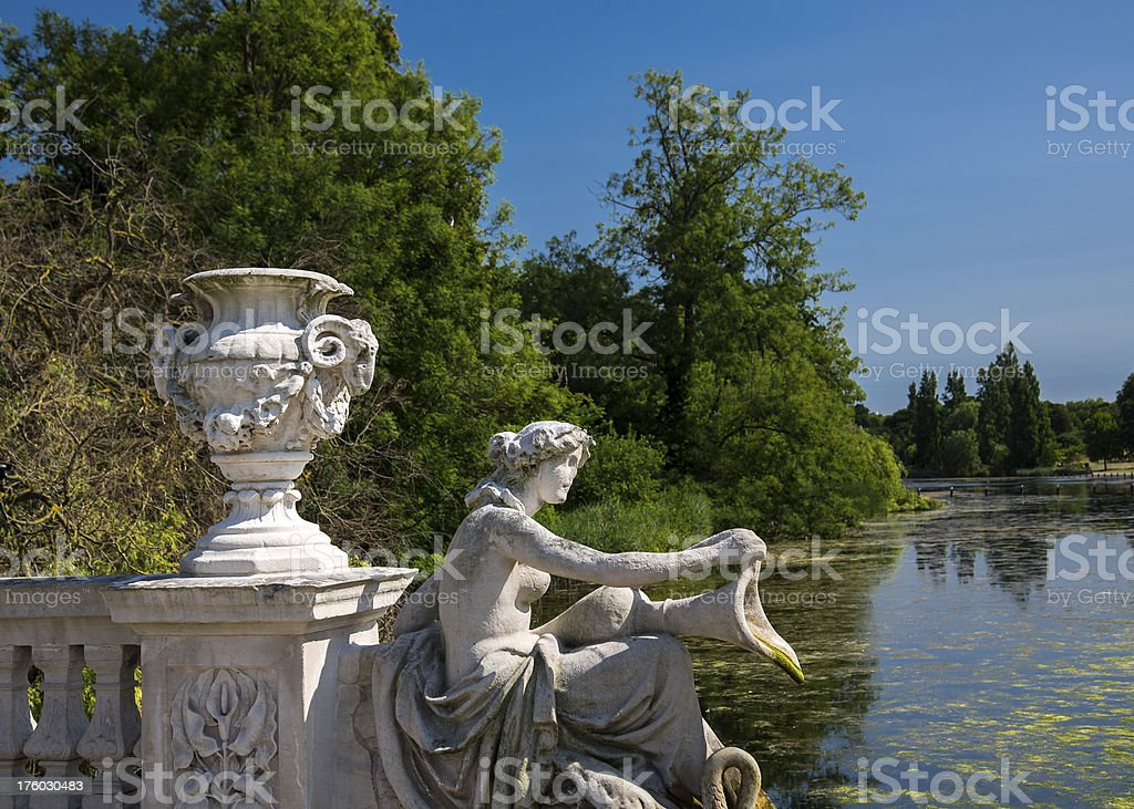 Italian Garden, Kensington Gardens, London stock photo