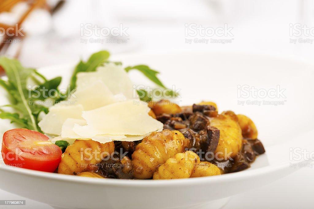 Italian Gnocchi royalty-free stock photo