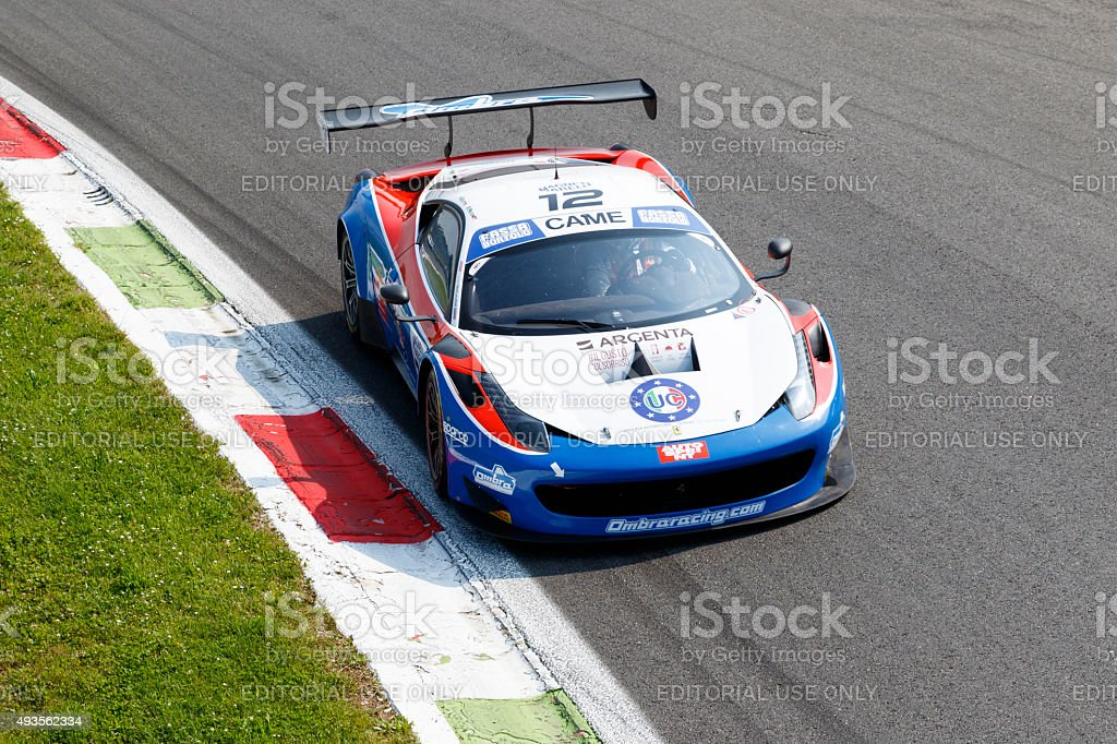 Campionato Italiano Gran Turismo stock photo