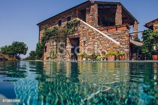 istock Italian Holiday Villa 610864566
