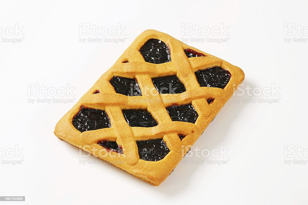 Italian homemade tart, crostata royalty-free stock photo