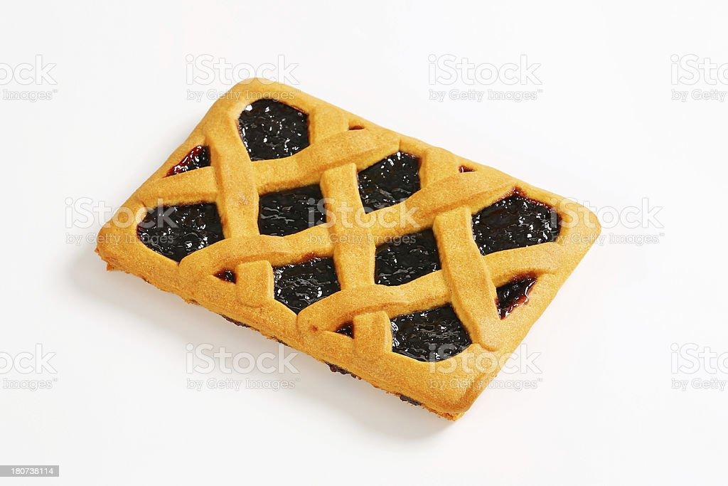 Italian homemade tart, crostata royalty-free stock photo
