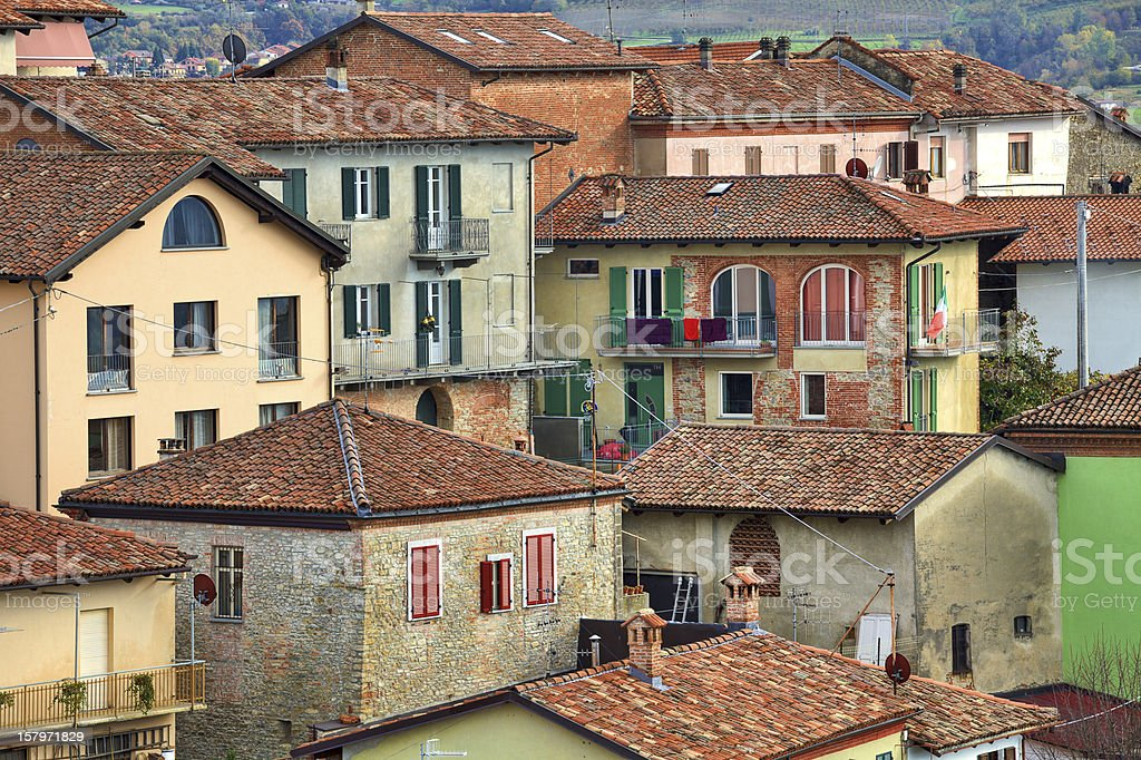 Italian Houses Diano Dalba Italy Stock Photo Download Image Now Istock
