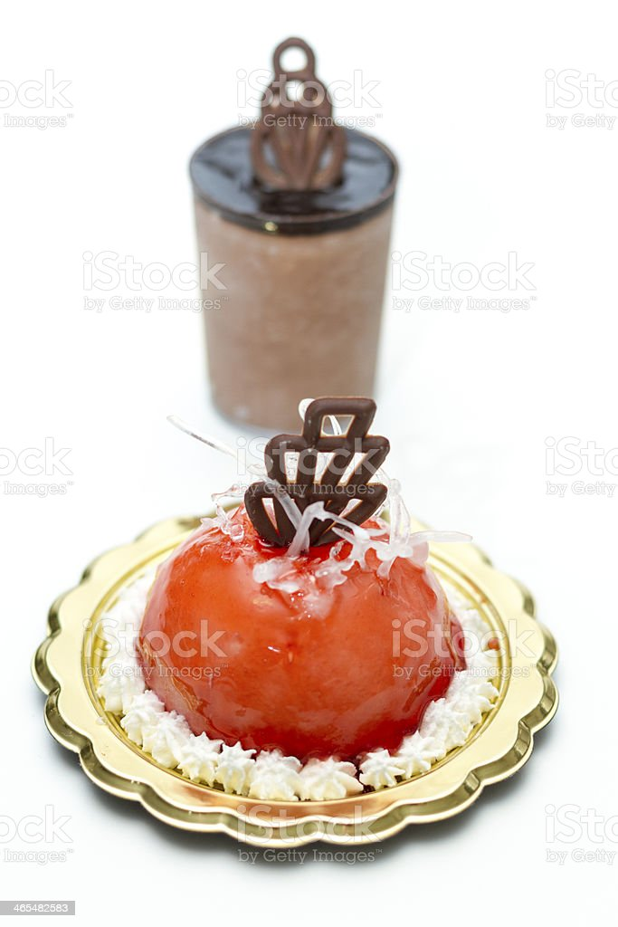 Italian ice cream pastries - Small Business royalty-free stock photo