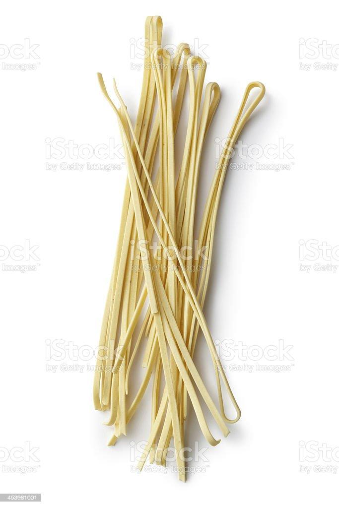 Italian Ingredients: Linguini royalty-free stock photo
