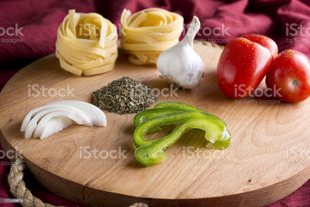 Italian Ingredients royalty-free stock photo