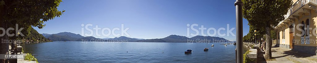 Italian lake district. royalty-free stock photo