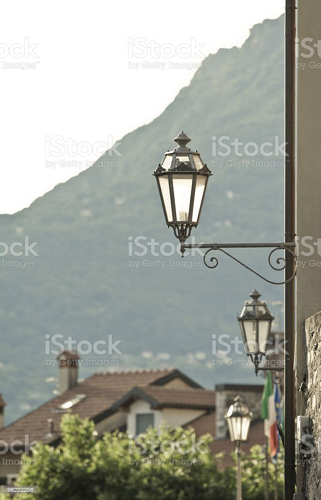 Lampada italiano foto stock royalty-free