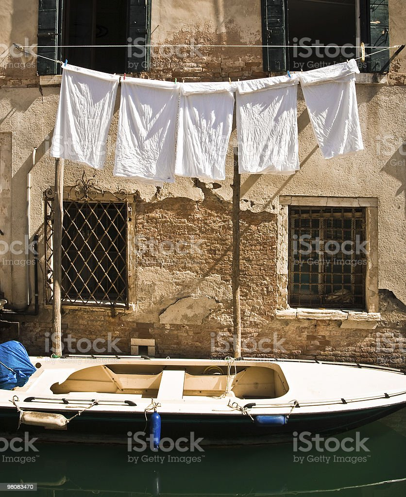 Italian laundry royalty-free stock photo