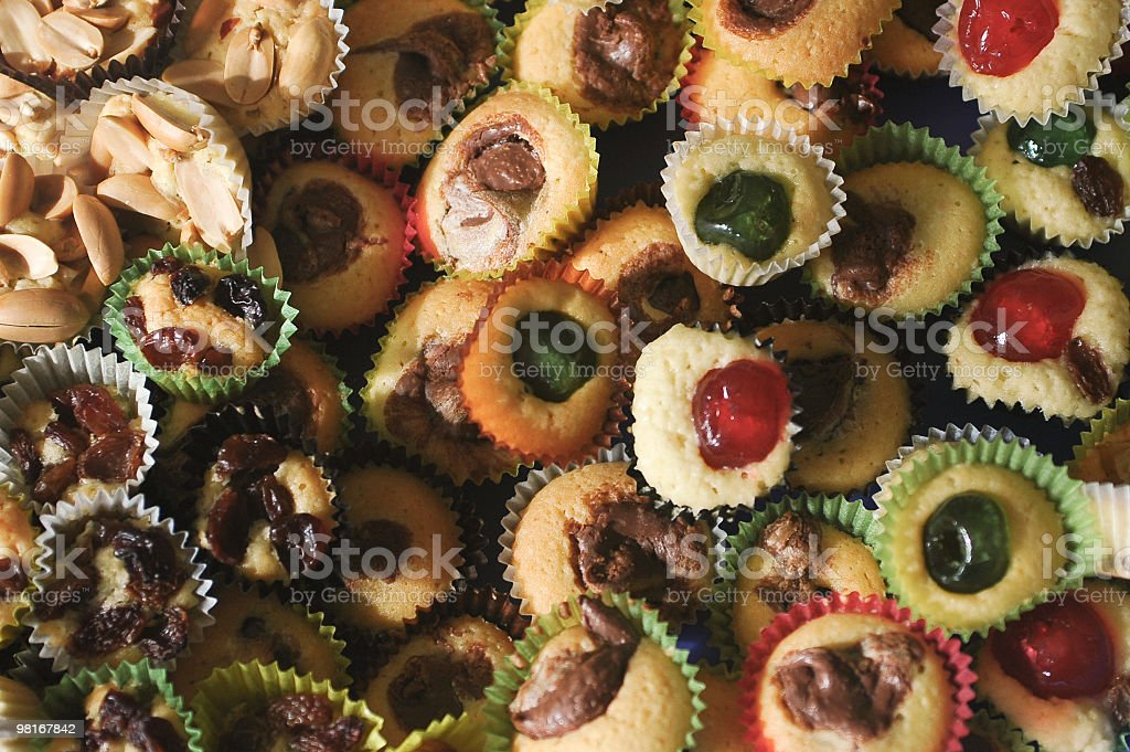 Italian little pastries royalty-free stock photo