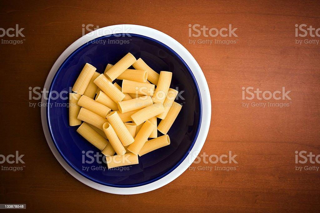 Italian macaroni royalty-free stock photo